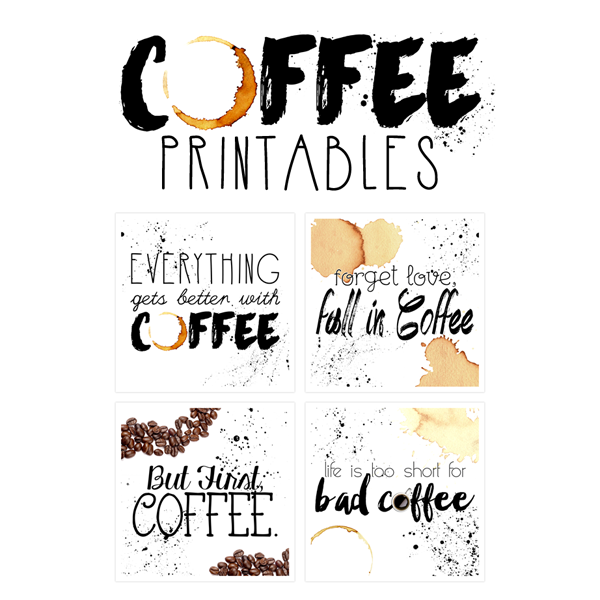 Free Printable Art: The Coffee Collection