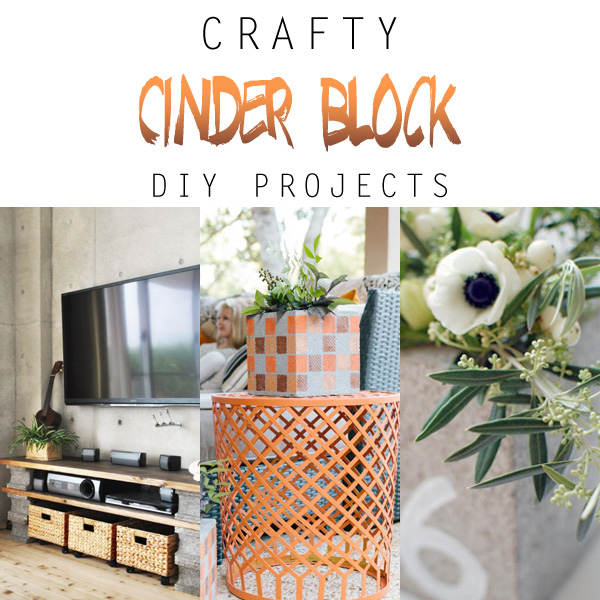 Crafty Cinder Block Diy Projects The Cottage Market