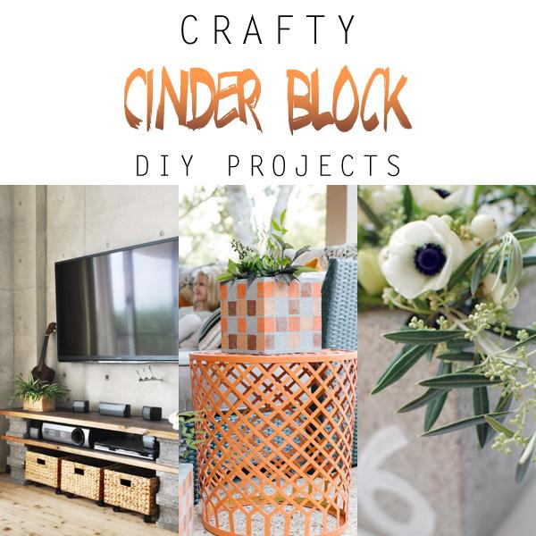Crafty Cinder Block DIY Projects