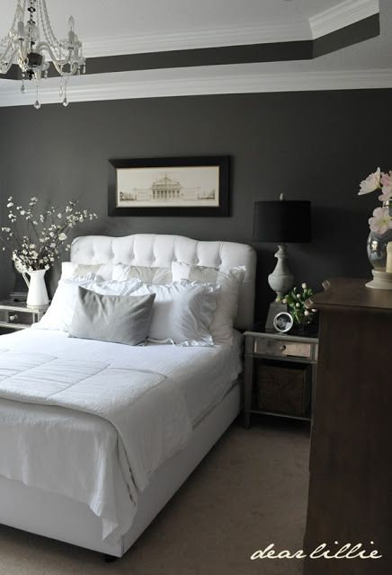 Over At Daily Dream Decor I Found This Lovely Room That Features Dove Grey And Then A Wonderful Array Of Shades In All The Accessories