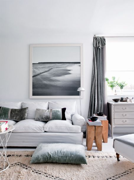 50 shades of grey home decor the cottage market Shades of gray for living room