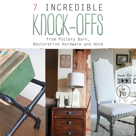 Good 7 Incredible Knock Offs From Pottery Barn, Restoration Hardware And More