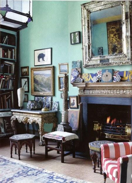 Home Interior Design Ideas Drawing Room: 50 Shades Of Aqua Home Decor