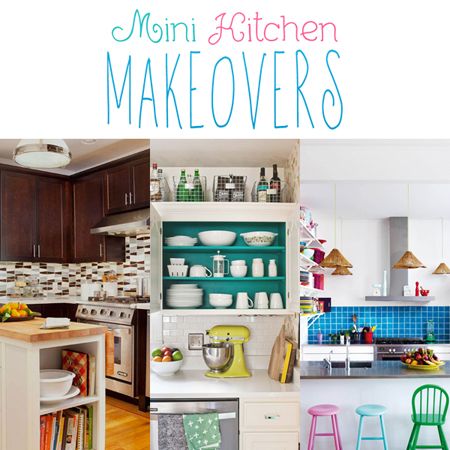 Mini Kitchen Makeovers