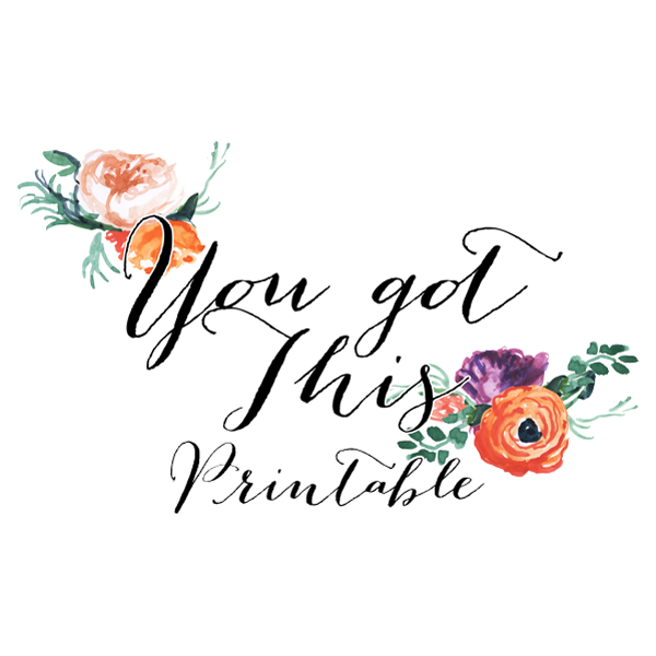 FREE You Got This 8×10 Print // Free Printable