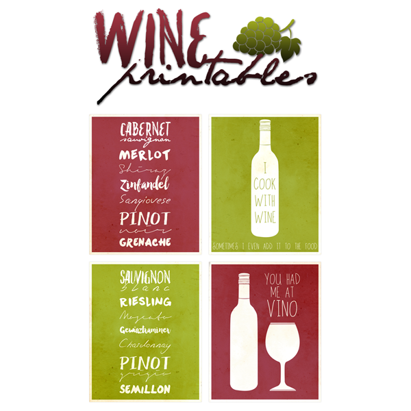 The Wine Collection - Free Printables