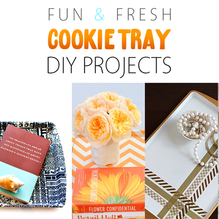 Fun and Fresh Cookie Tray DIY Projects