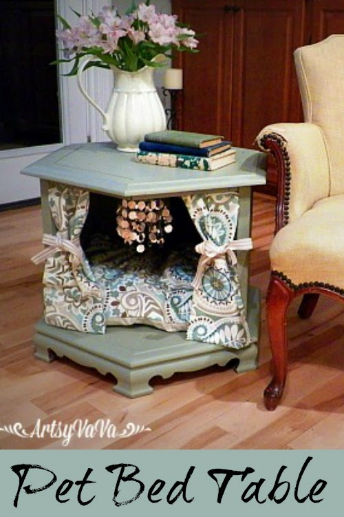 Diy End Table Pet Bed