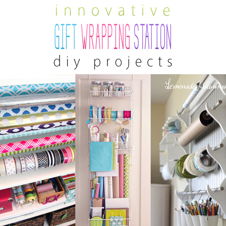 Innovative Gift Wrapping Station DIY Projects