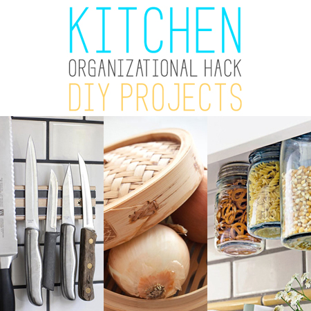 Kitchen organizational hack diy projects the cottage market for 9 kitchen life hacks