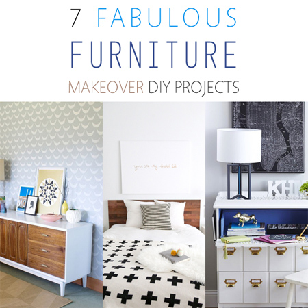 7 Fabulous Furniture Makeover DIY Projects