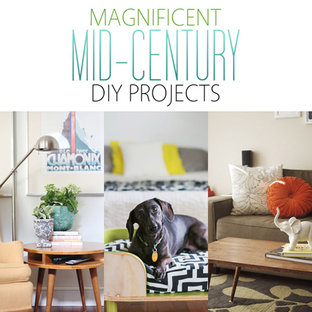 Magnificent Mid-Century DIY Projects