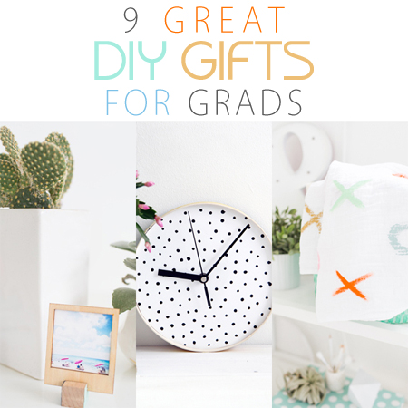 9 Great DIY Gifts for Grads