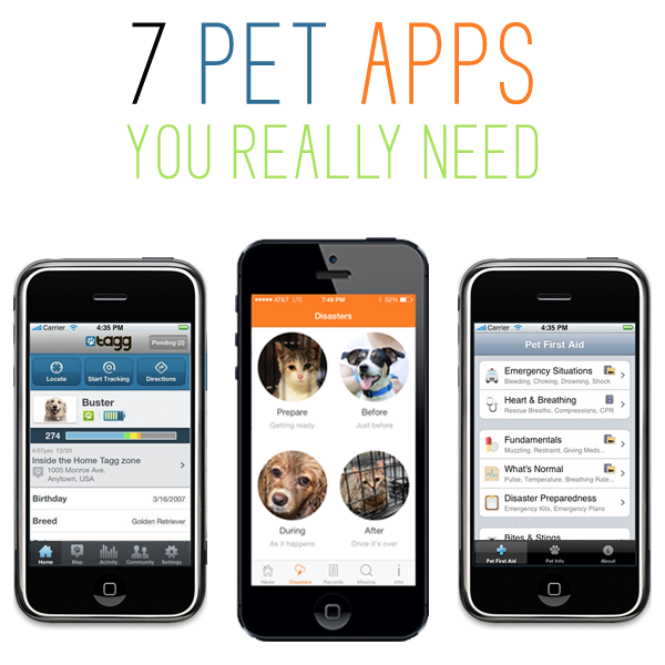 7 Pet Apps you really need