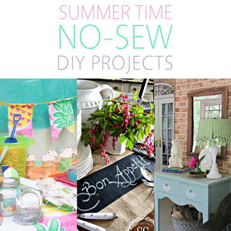 Summer Time No-Sew DIY Projects