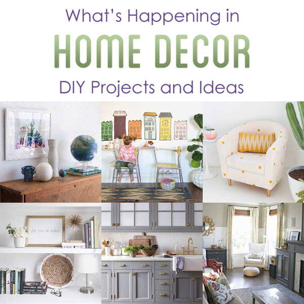 Home Decor Market: What's Happening In Home Decor DIY Projects And Ideas