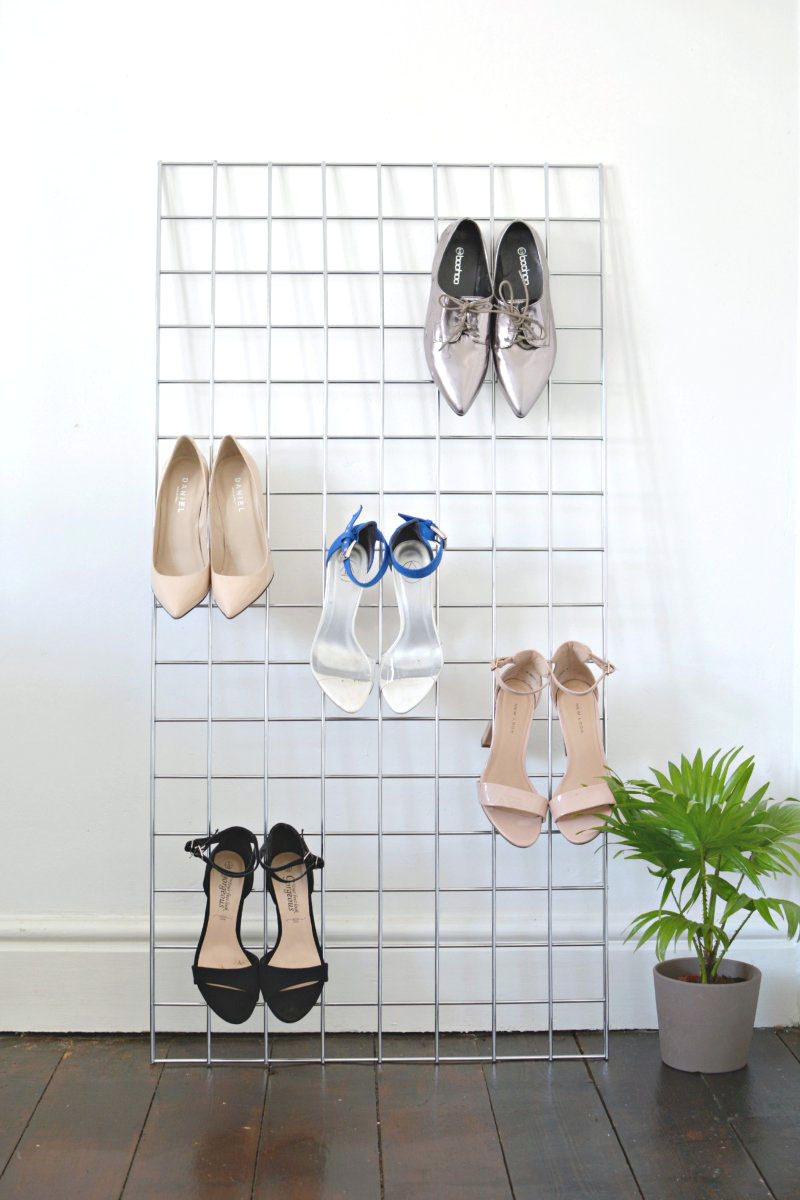 diy shoe storage copy