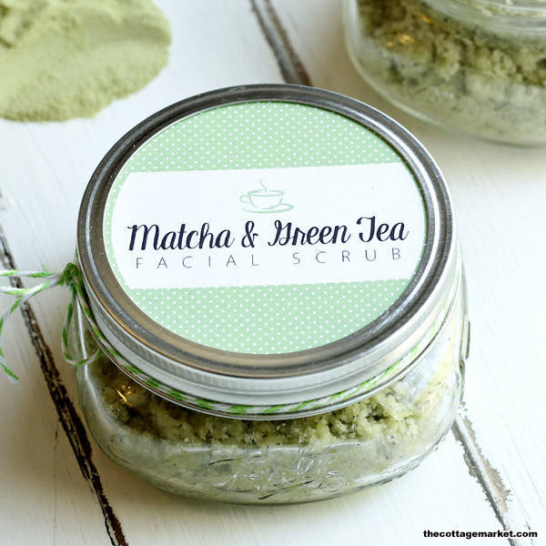 This matcha and green tea scrub infused with natural ingredients makes a great gift.