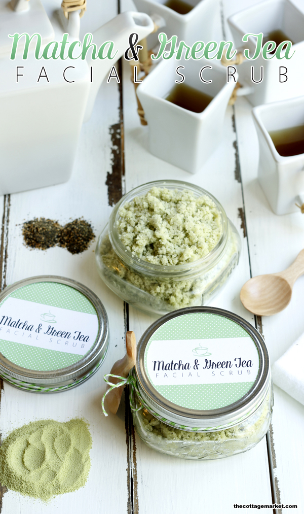 Try out this DIY matcha and green tea scrub as a gift for your friend.