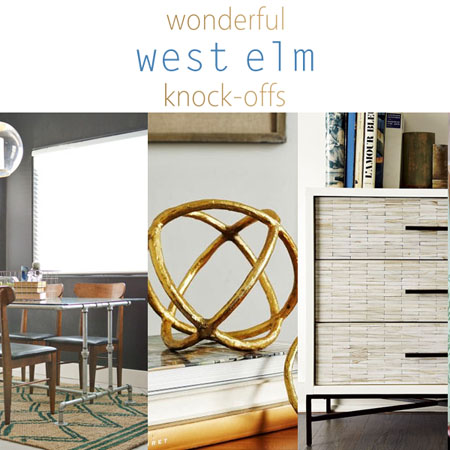 Wonderful West Elm Knock-offs