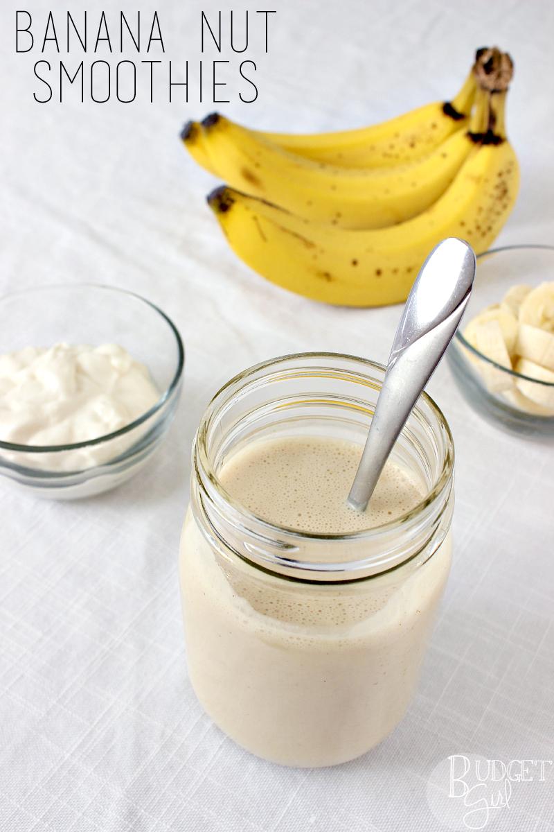 Banana-Nut-Smoothies