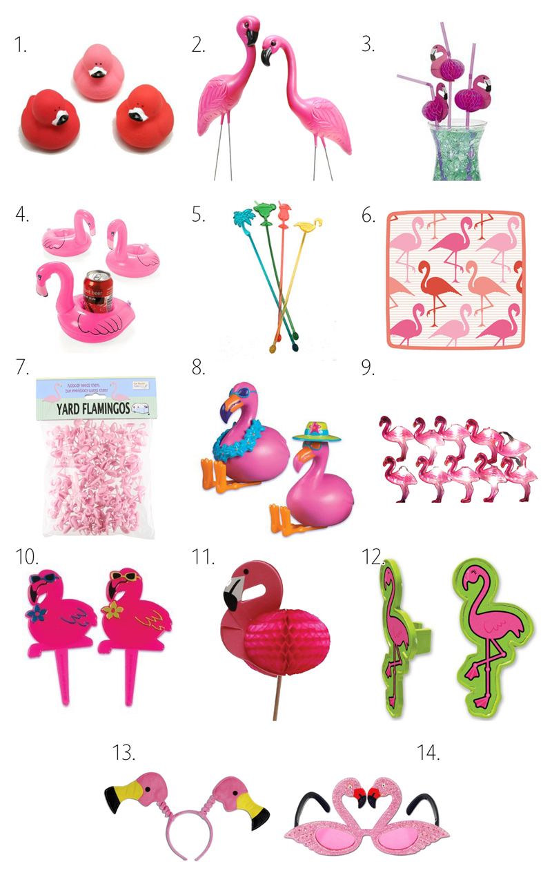 Diy Pink Flamingo Party Ideas The Cottage Market