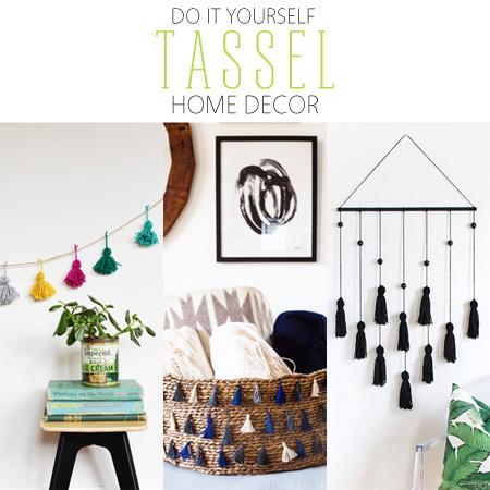 DIY Tassel Home Decor