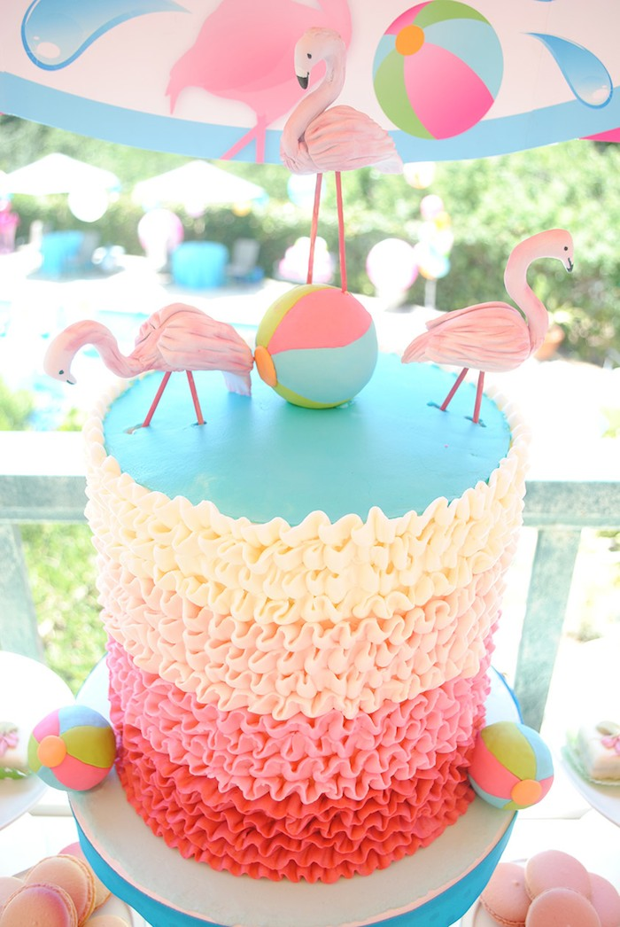 Flamingo Cake Tin