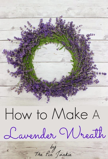 how to make a lavender wreath 3