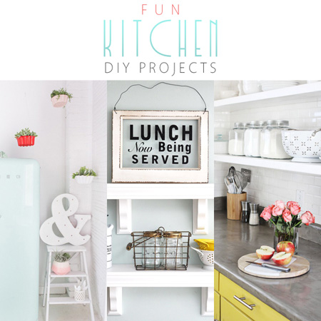 Fun Kitchen DIY Projects