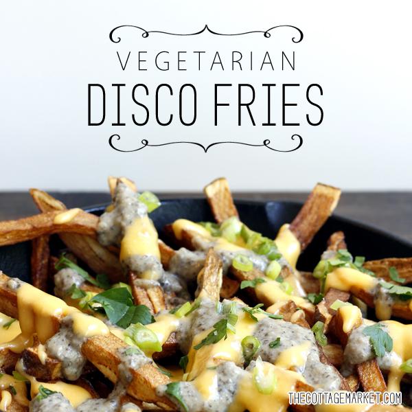 Vegetarian Disco Fries