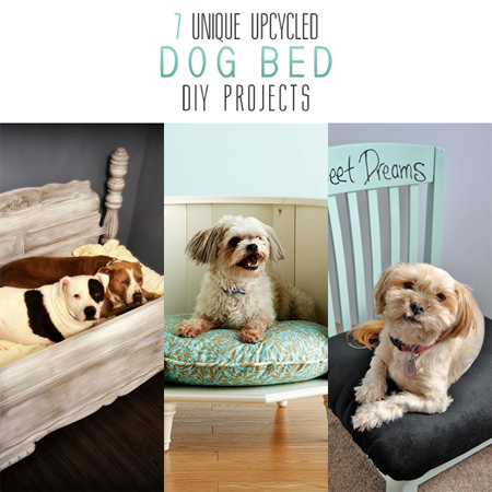 7 Unique Upcycled Dog Bed DIY Projects (All With Tutorials)