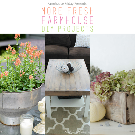 Farmhouse Fresh Friday /// Fresh Farmhouse DIY Projects