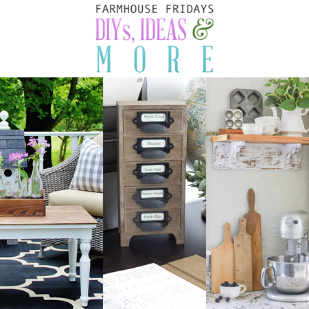 Farmhouse Fridays /// Farmhouse DIY Projects, Ideas and More