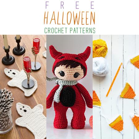 Free Halloween Crochet Patterns - The Cottage Market