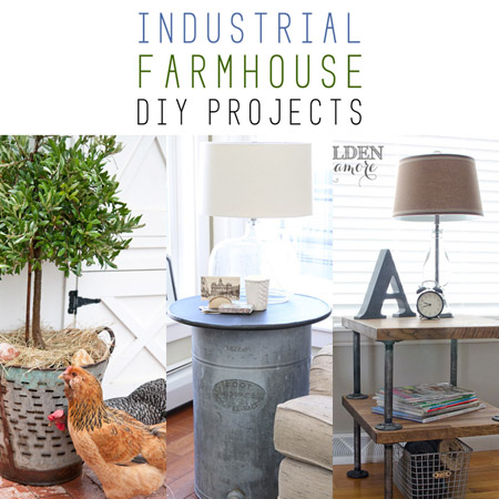 Farmhouse Fridays /// Industrial Farmhouse DIY Projects