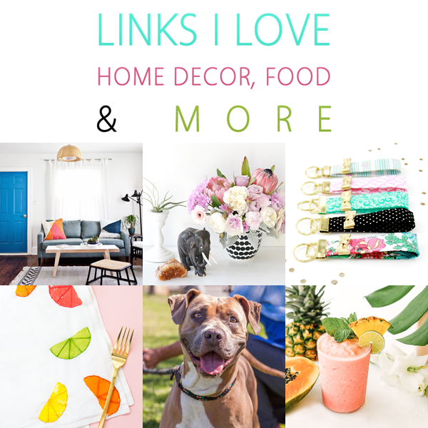 Links I Love This Week /// Home Decor, Food & More