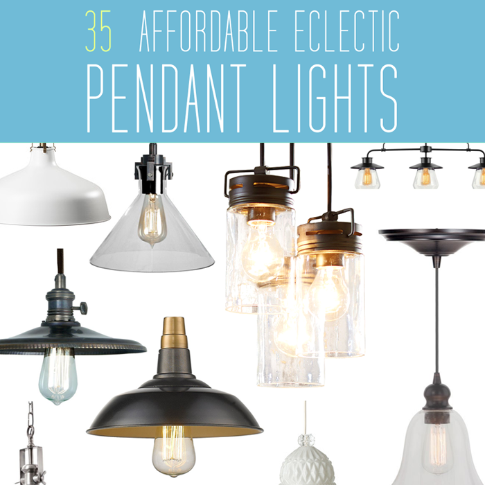 35 Eclectic Affordable Pendant Lights