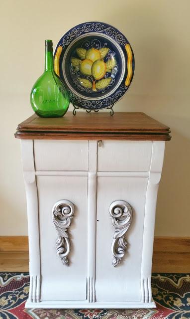 antique cabinet redo