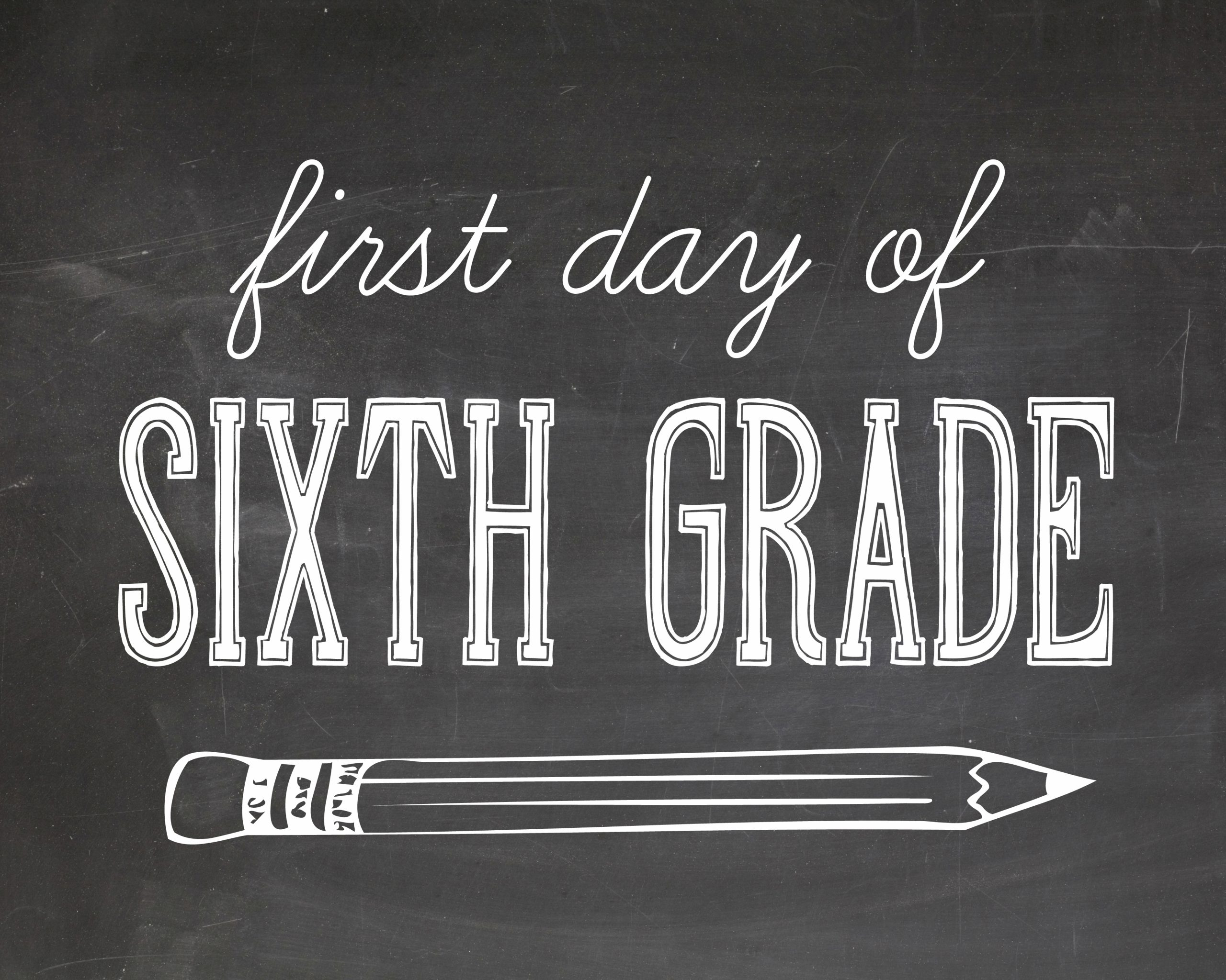 First Day of School Photography Printables - The Cottage Market