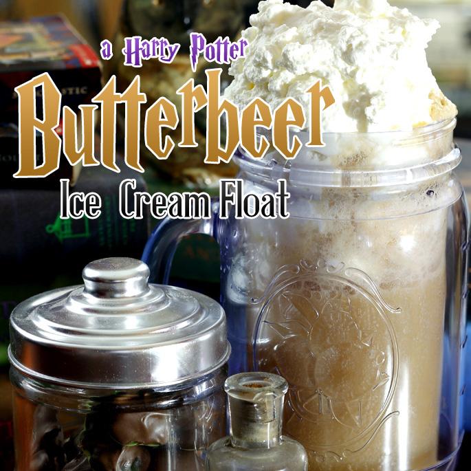 Harry Potter's Homemade Butterbeer Float