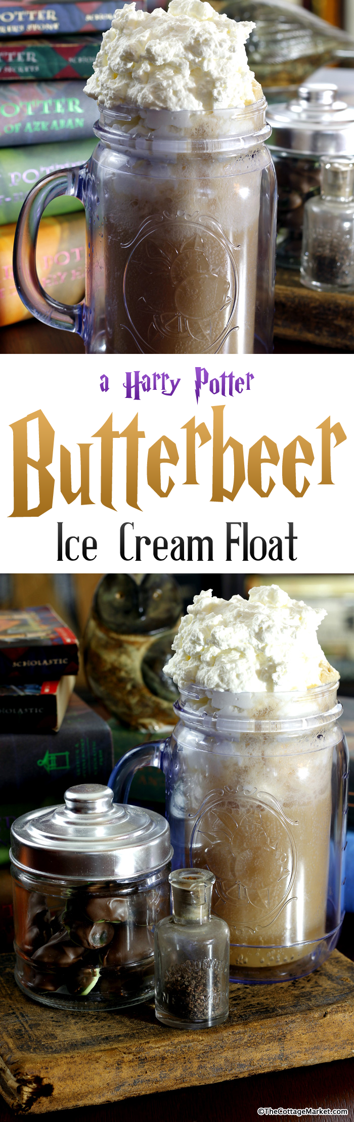 Homemade Harry Potter Butterbeer Ice Cream Float Recipe