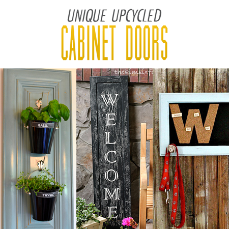 Unique Upcycled Cabinet Doors