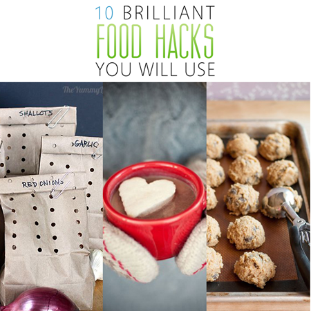 10 Brilliant Food Hacks You Will Use