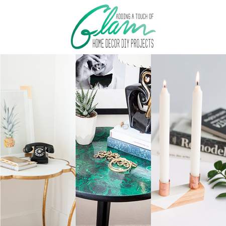 touch of glam home decor diy projects - the cottage market