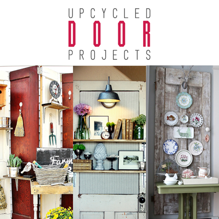 Upcycled Door Projects  sc 1 st  The Cottage Market & Upcycled Door Projects - The Cottage Market
