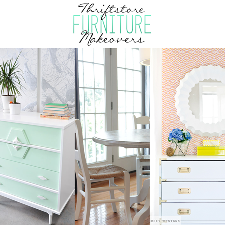Thrift Store Furniture Makeovers The Cottage Market