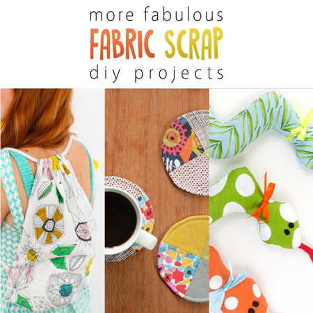 More Fabulous Fabric Scrap Diy Projects The Cottage Market