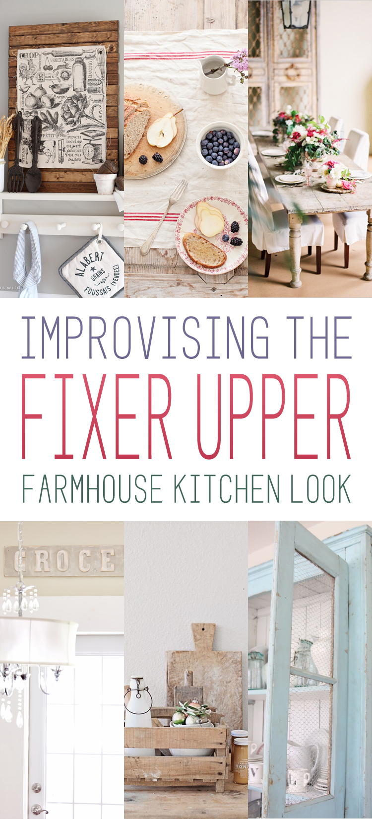 Farm Kitchen The Fixer Upper Farmhouse Kitchen Look The Cottage Market