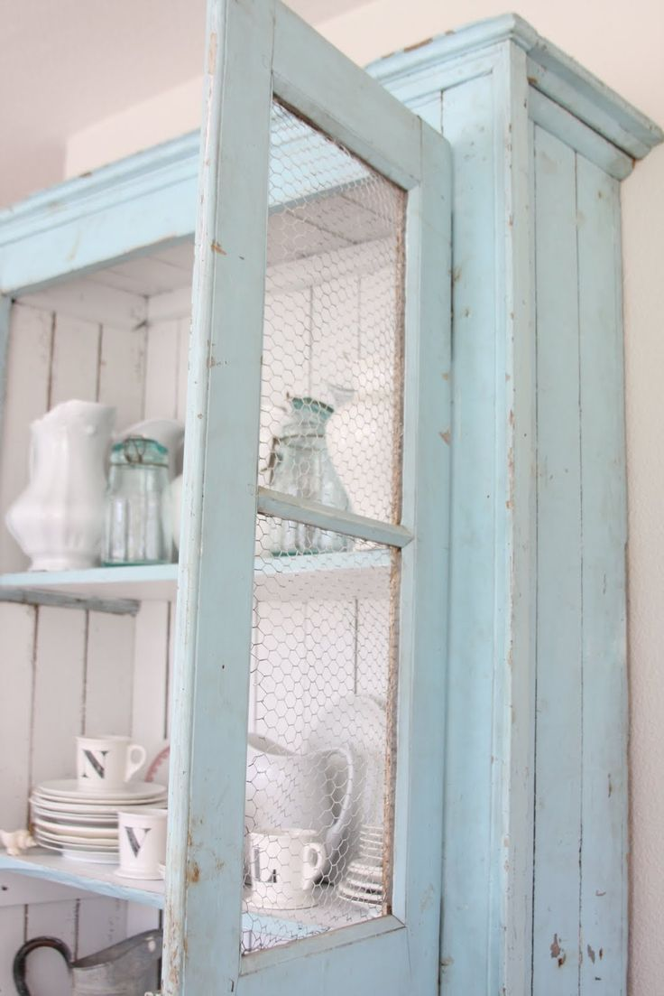 Fixer upper blue kitchen cabinets - Fixerupperkitchen6